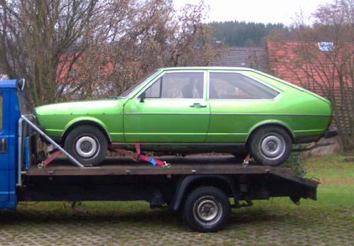 VW Passat GLS 1977 viperngün
