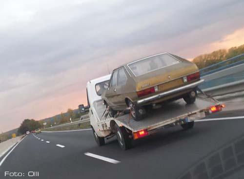Überführung VW Passat 474