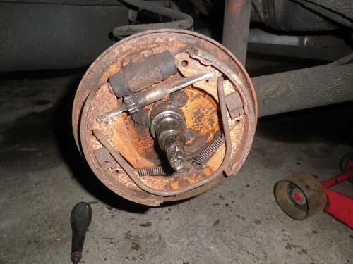 Innenleben Bremstrommel VW Passat