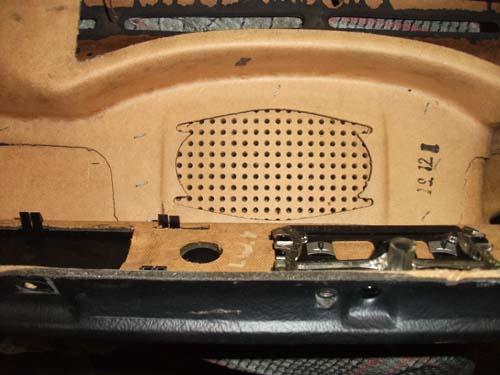 Lautsprecheröffnung