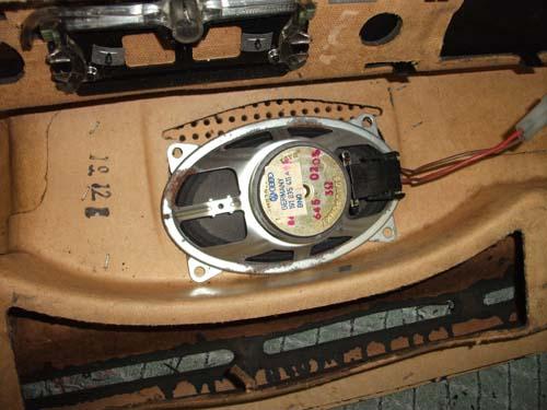 Lautsprecher Armaturenbrett