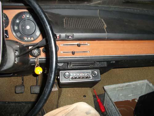 Radiokonsole VW Passat