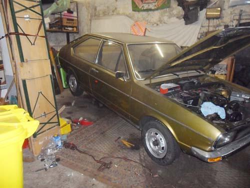 Auspuffwechsel VW Passat 1973