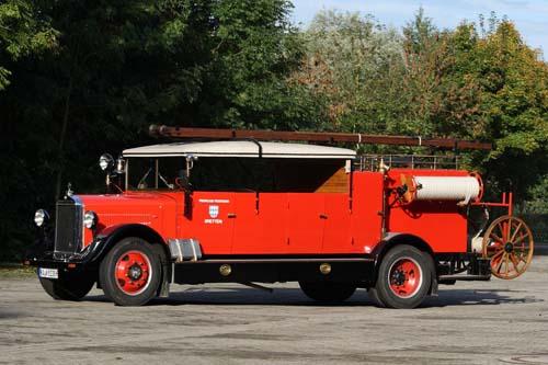 Mercedes Feuerwehr LKW 1937