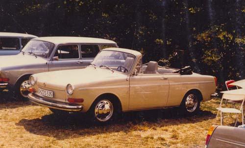 VW Typ3 Stufenheck Cabrio Langschnautzer