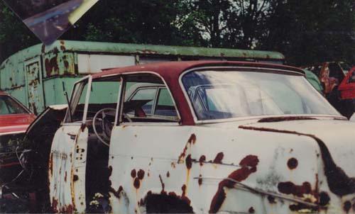 Opel Olympia Schrott