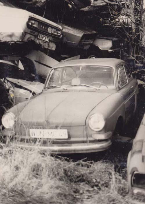 VW Typ 3 Schrott