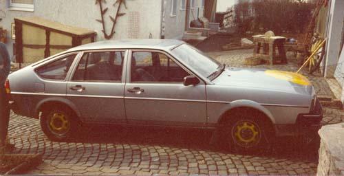 VW Passat 32B CL Formel E 1983