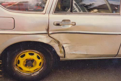 Unfallschaden VW Passat 32B