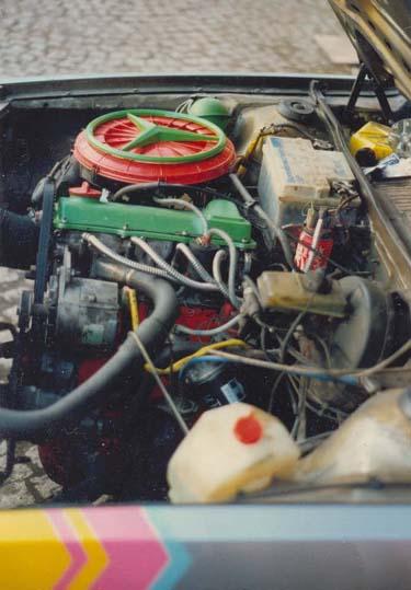 Motor VW Passat 32B 75PS Vergaser