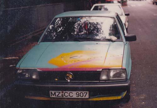 VW Passat 32B Formel E 1982