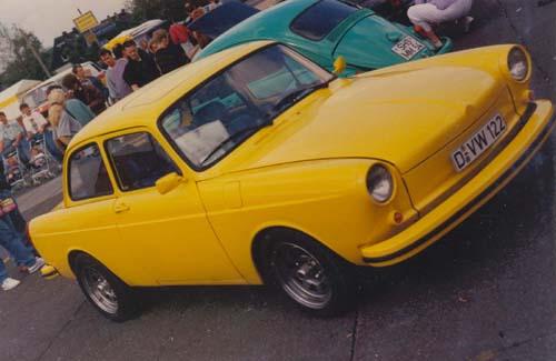 VW Typ 3 1600L entchromt
