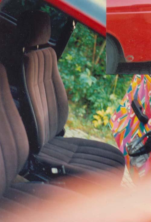 Sitze VW Typ 3