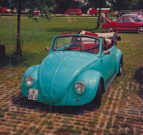 80er Jahre Callook VW Käfer Cabrio