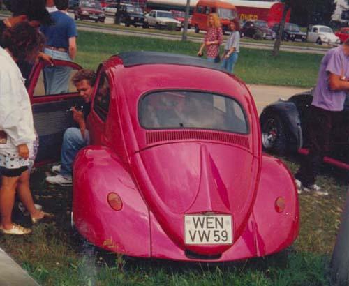 VW Käfer Topchop Pink