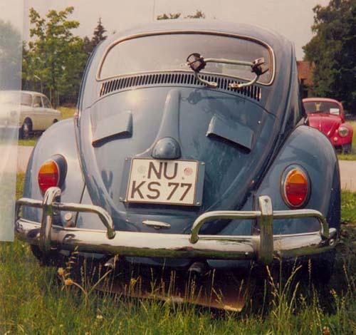 Hutzen Motorhaube VW Käfer