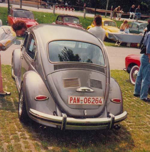 356er heckleuchten am VW Käfer