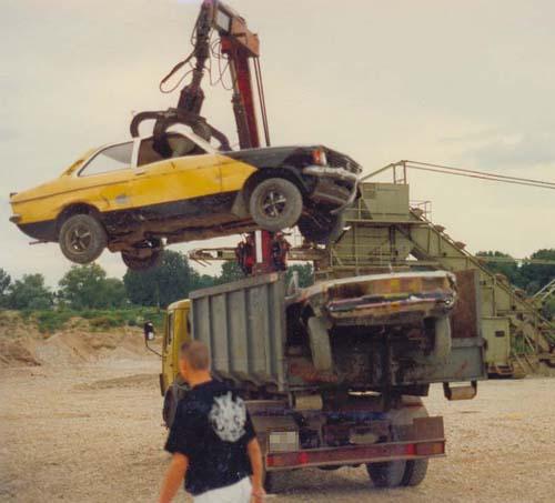Opel Kadett C Schrottlaster