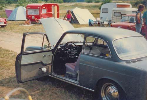 Früher VW 1500 Typ 3 Stufenheck