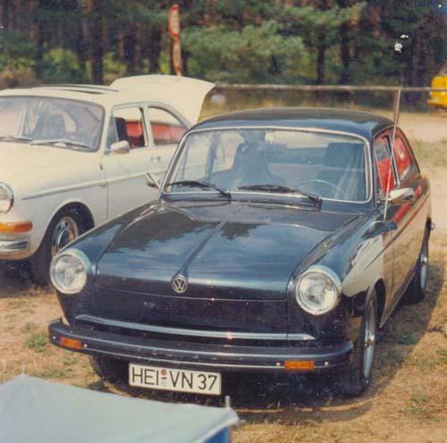 Typ 3 VW 1600 TL Blinker weg