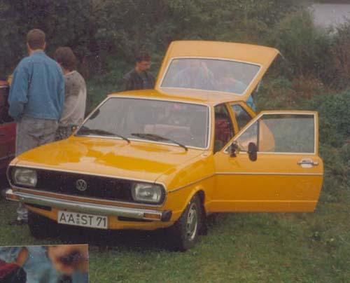 VW Passat Chrommodell