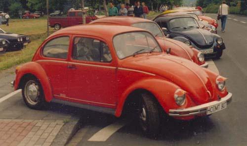 VW Käfer Mexico Sondermodell Jeansbug