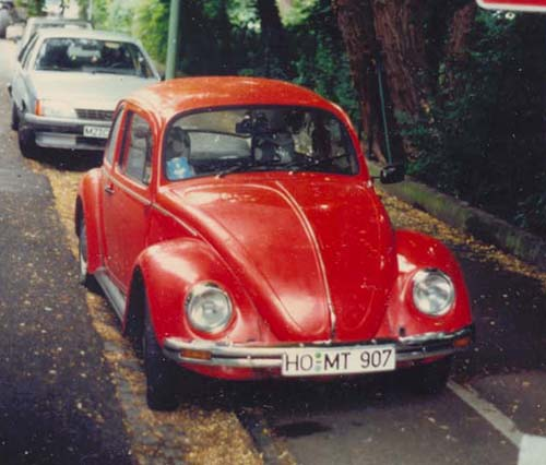 VW Käfer Mexiko rot