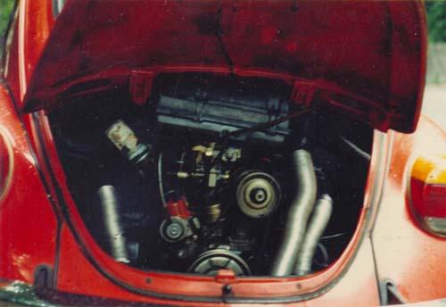 VW Käfermotor 1200ccm 34PS