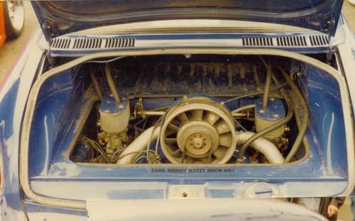 VW 1600 mit Typ 4 Motor