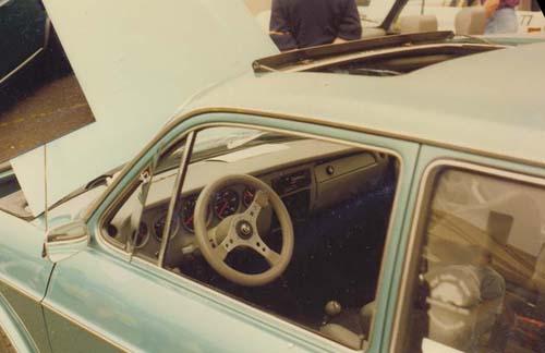 Innenausstattung VW 411 Variant Leder