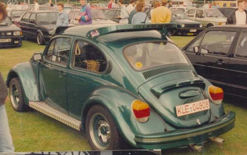 Heckflügel VW Käfer