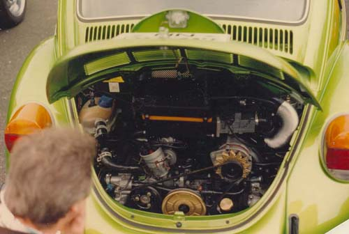 VW Käfer Wasserboxer Motor