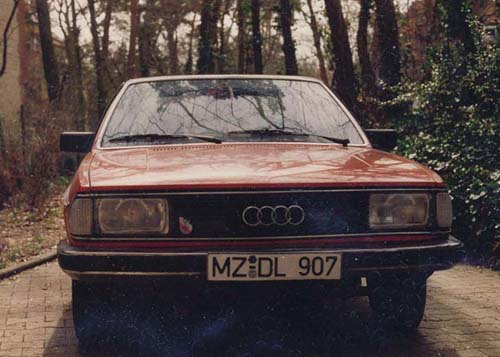 Front Audi 100 5S Typ 43