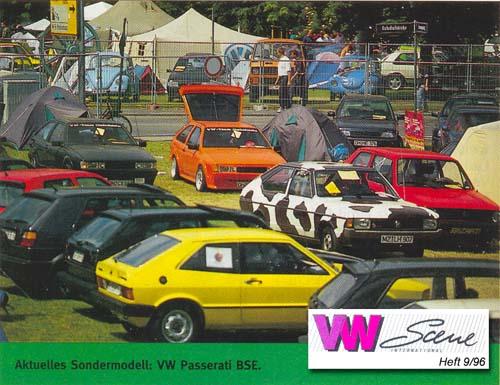 VW Passarati BSE in der VW Scene