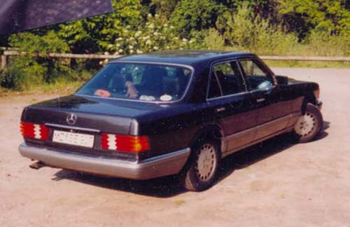 Mercedes Benz W126 420SE Ludenbenz