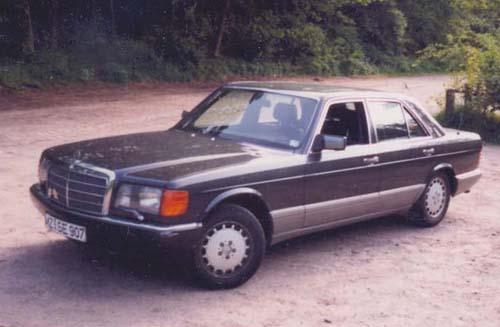 Mercedes Benz W126 420SE
