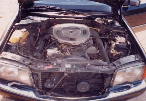 Motor Mercedes Benz W126 420 SE V8