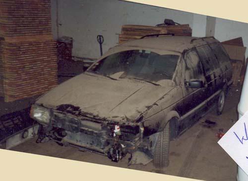 Unfallschaden VW Passat 35i