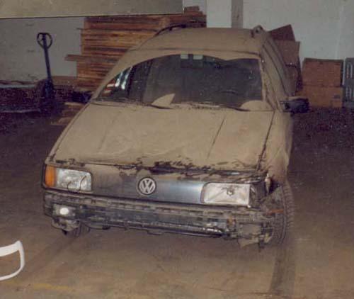 VW Passat 35i Unfallwagen