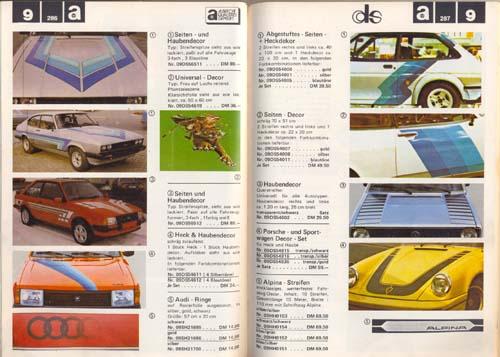 Aufkleber Designs 80er Jahre