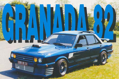 Ford Granada 1982 Spoilermonster