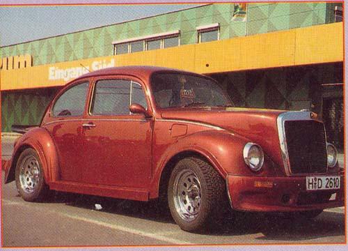 VW Käfer Mercedeshaube