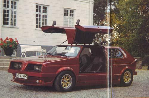 VW Golf 1 Flügeltürer