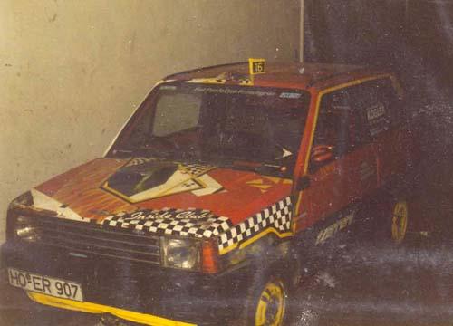 Fiat Panda 45 1982 rot