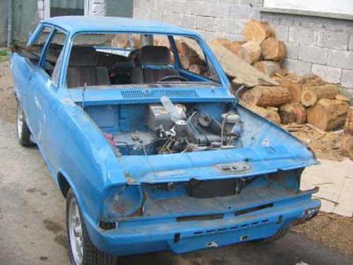 Opel Kadett B Schlachter