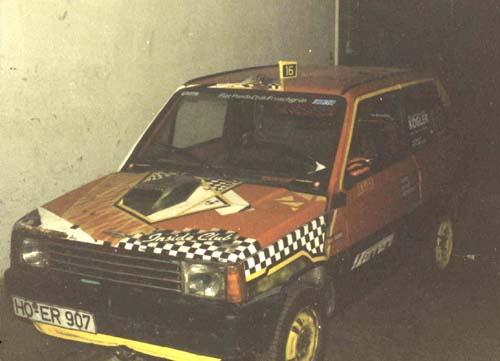 KLEs Fiat Panda Bj. 1982