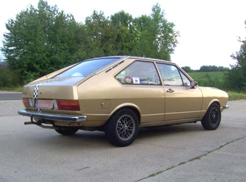 VW Passat Typ 32 1974 Chrommodell