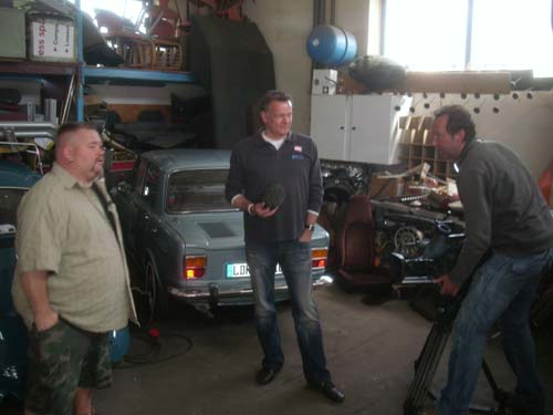 Fernsehdreh VOX Auto Mobil