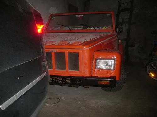 Geänderte Front VW Kübel