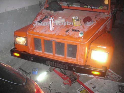 Front VW Kübel Thing